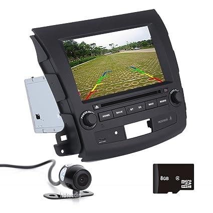 Amazon com: In-dash CAR GPS For Mitsubishi Outlander 2006