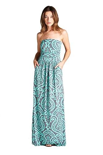 Vanilla Bay Baroque Maxi Dress