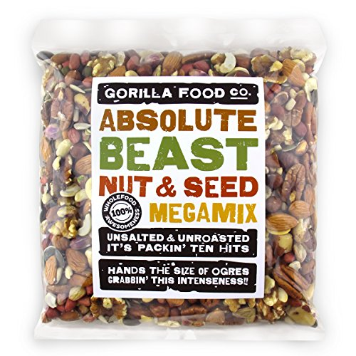 Gorilla Food Co. Absolute Beast Mixed Nuts & Seeds - 800g