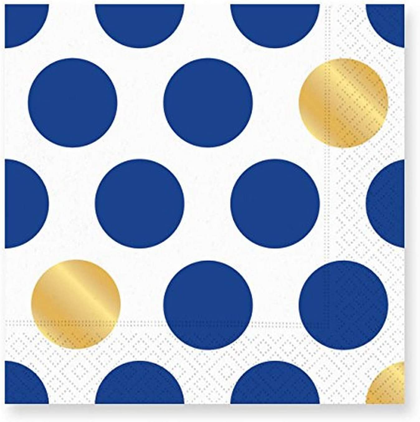 2 2-PLY TWO Packs of Napkins Dots /& Stripes Paper Cocktail Napkins 16ct