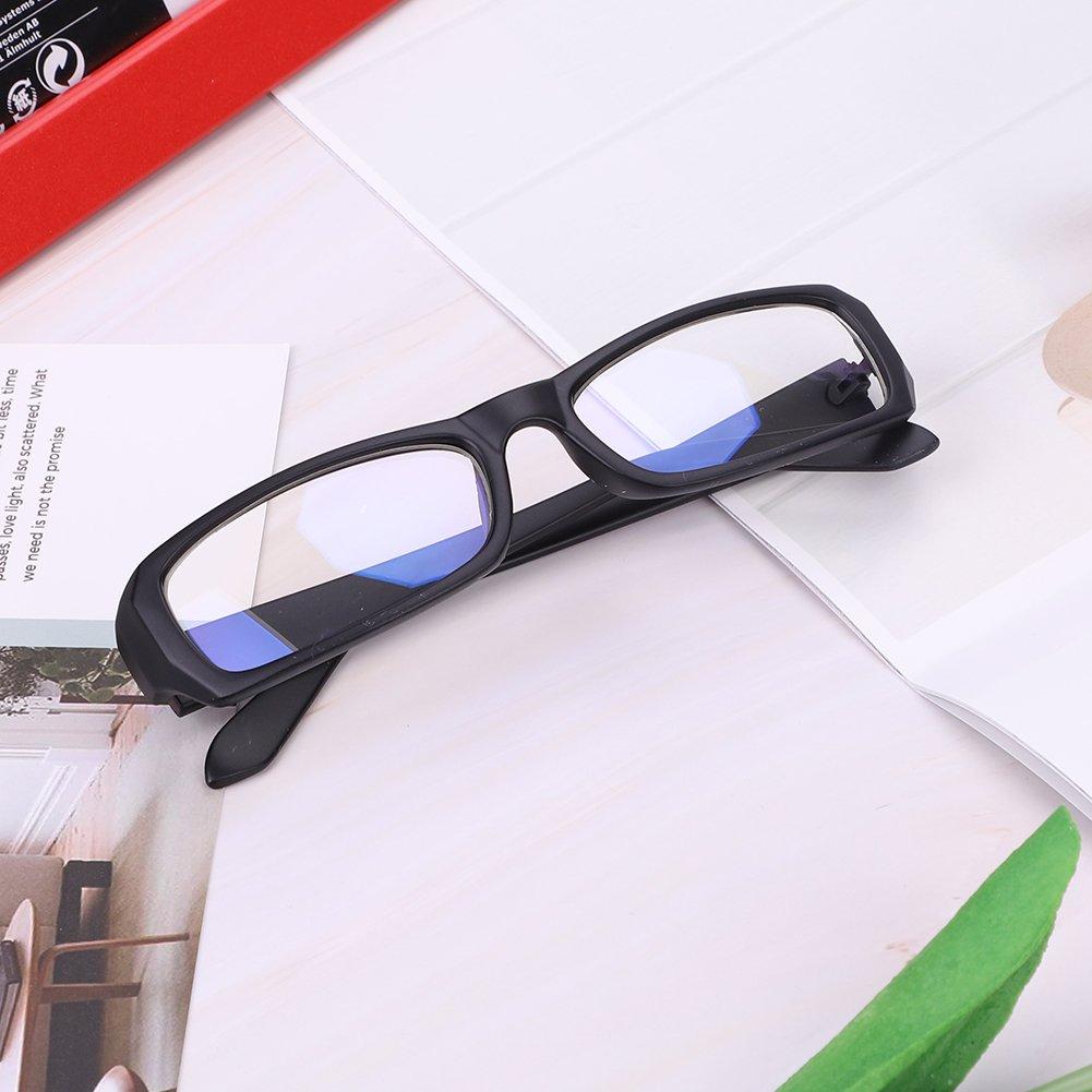 Fashion Women Men Reading Glasses Lightweight Computer Anti Glare Glasses Anti Blue Light Flat Eyeglasses Reader Spectacles Goggles Eye Protection Eyewear Rectangle Full Frame Spring Hinged