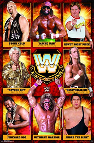 Trends International WWE Legends - Group 17 Wall Poster, 22.375