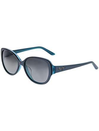 e4eb6a85a3c Amazon.com  Maui Jim - Swept Away - Blue Grey With Teal Interior  Frame-Neutral Grey Polarized Lenses  Maui Jim  Clothing