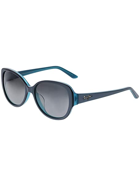 ae561f270 Maui Jim Women's Polarized Swept Away GS733-06B Blue Butterfly Sunglasses