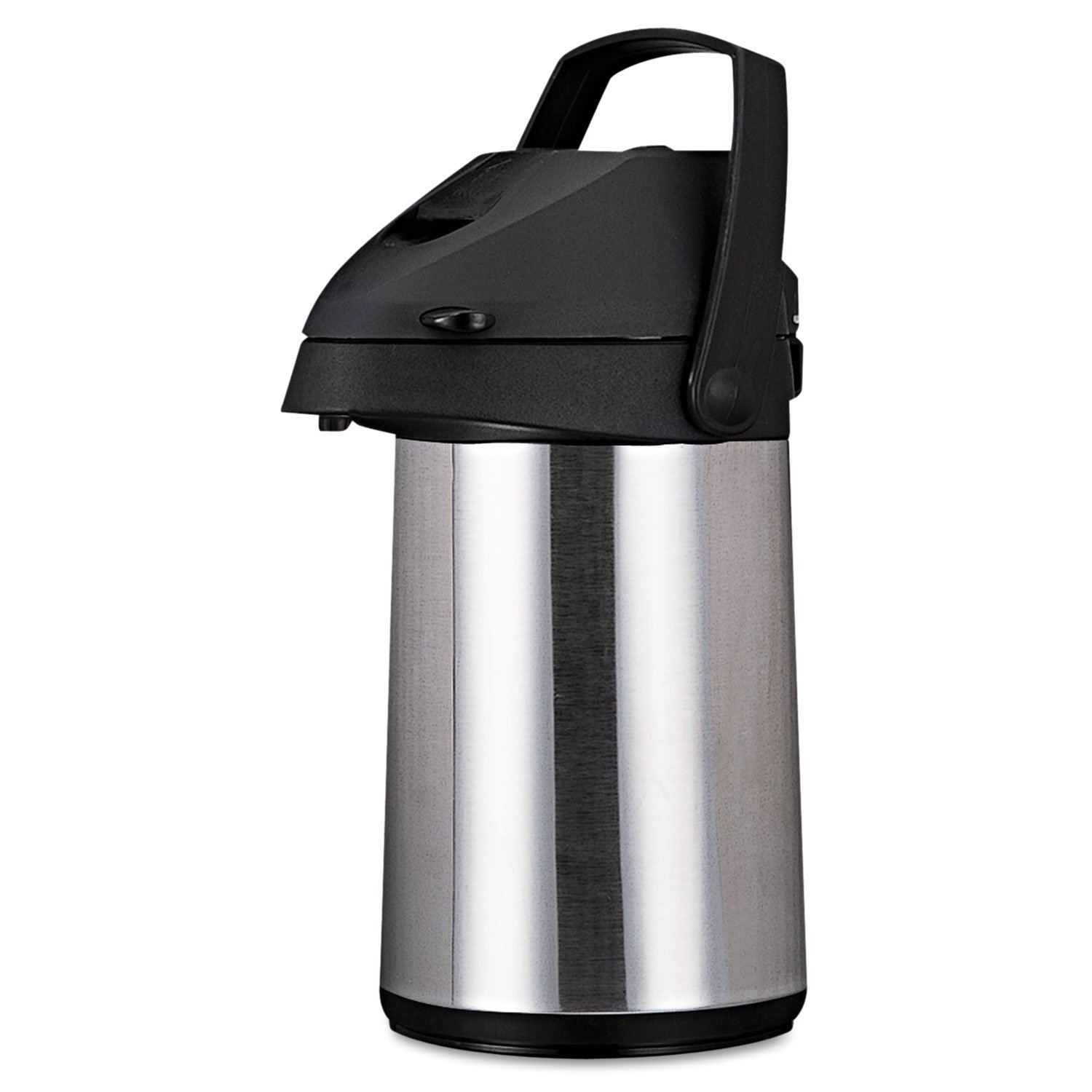 Coffee Pro CPAP22 Direct Brew/Serve Insulated Airpot with Carry Handle, 2200mL, Stainless Steel