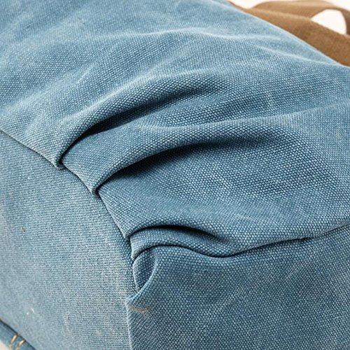 Jakiload color Lona Bolsos De Blue Mujer Para Black S Size wEPrwXqx