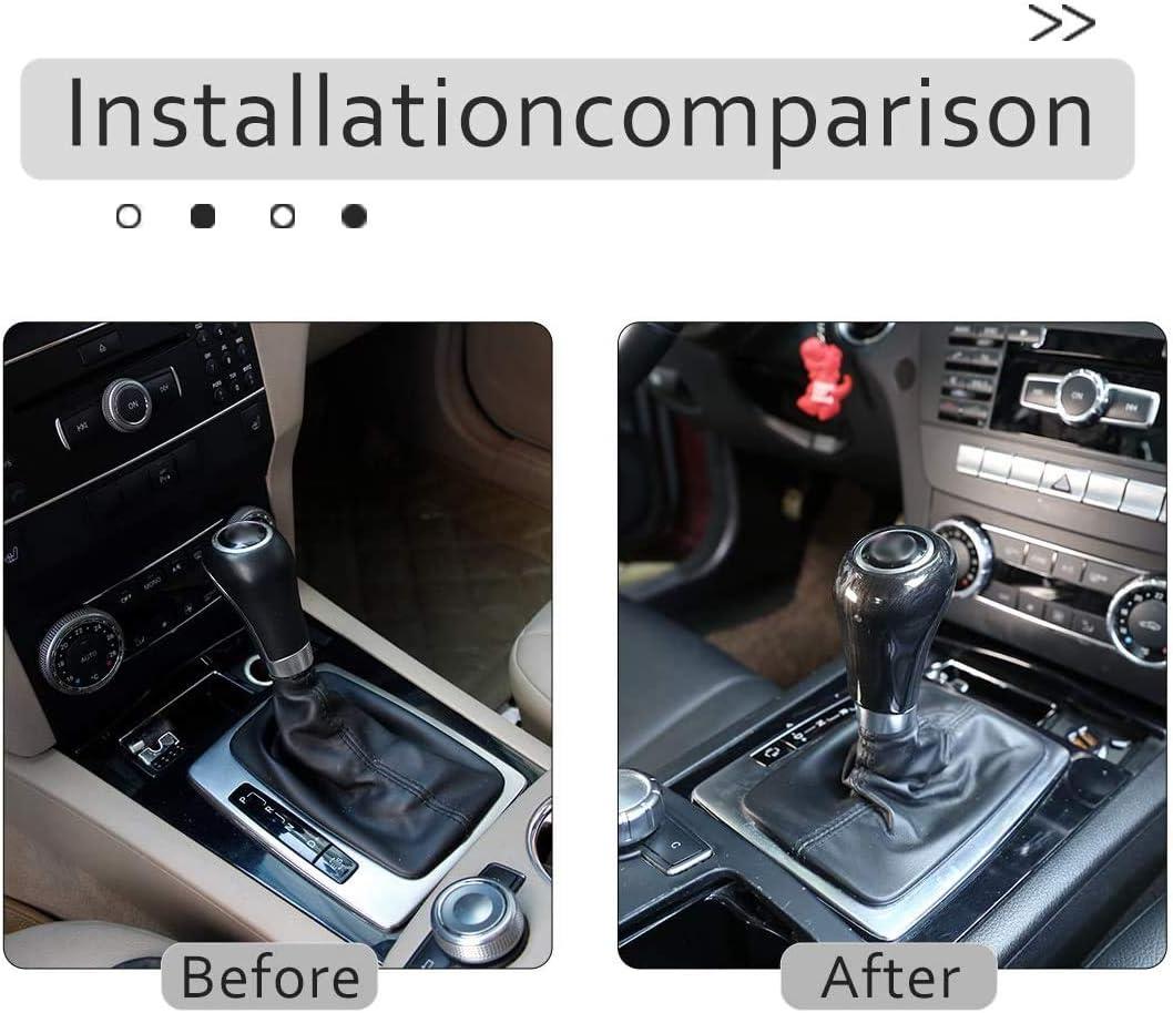 colore arancione Copertura per pomello del cambio dell/'auto compatibilit/à non garantita con veicoli con guida a sinistra in silicone rivestimento decorativo