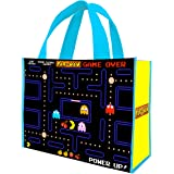 Vandor 69073 PAC-MAN Large Recycled Shopper Tote, Multicolored