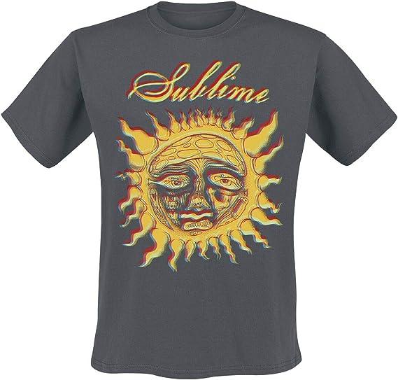 Sublime New Sun S M XL 2XL Black T-Shirt L