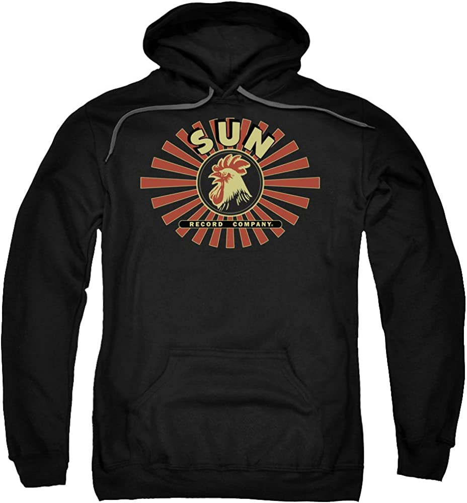 Sun Records Sun Rooster Adult Pull-Over Hoodie