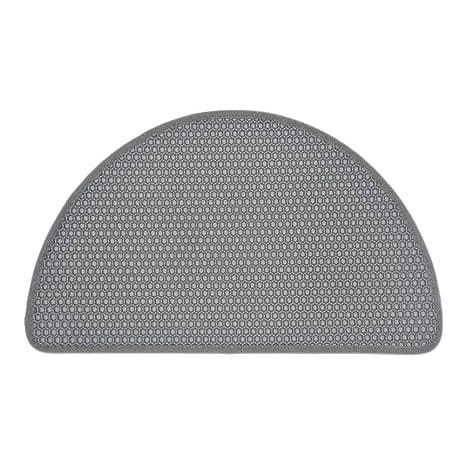 Handfly Estera de Arena para Gatos,65x38cm Diseño de Panal Impermeable de Doble Capa Caja