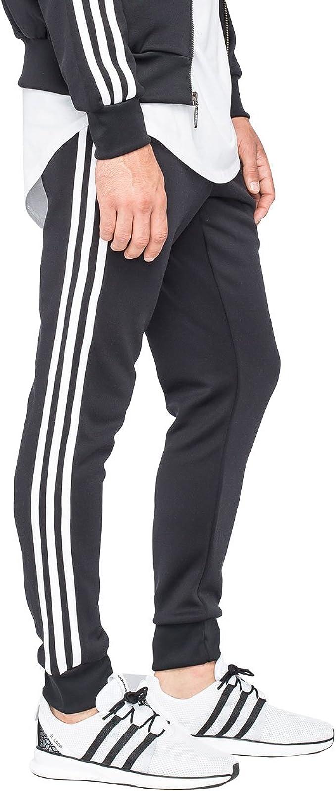 Amazon.com: adidas Originals Men's Superstar Cuffed Track Pant ...
