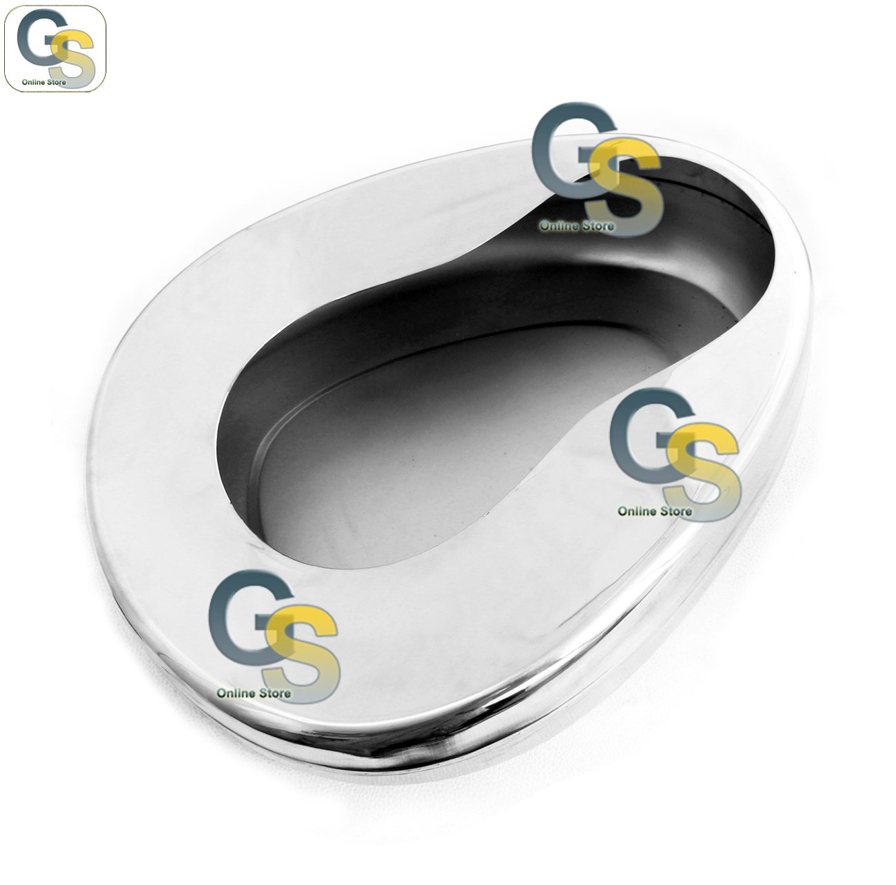 G.S STAINLESS STEEL BED PAN