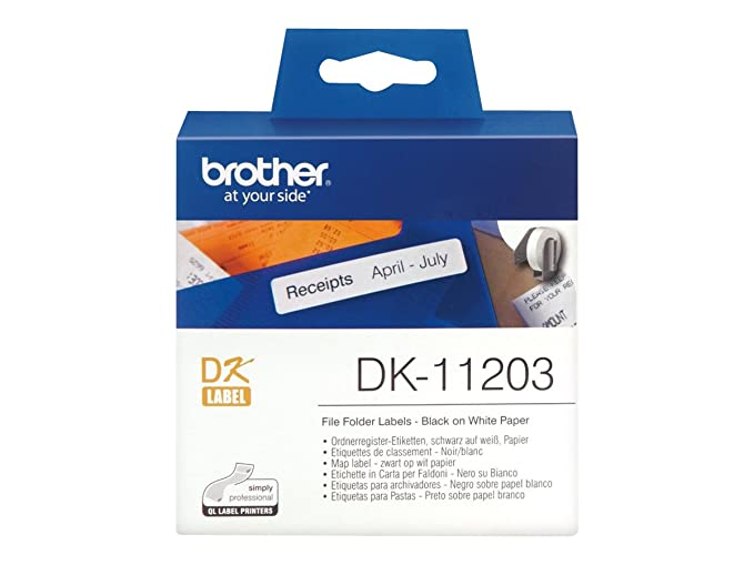 Amazon.com: Brother QL 500/550 Die-Cut Map Label: Computers & Accessories