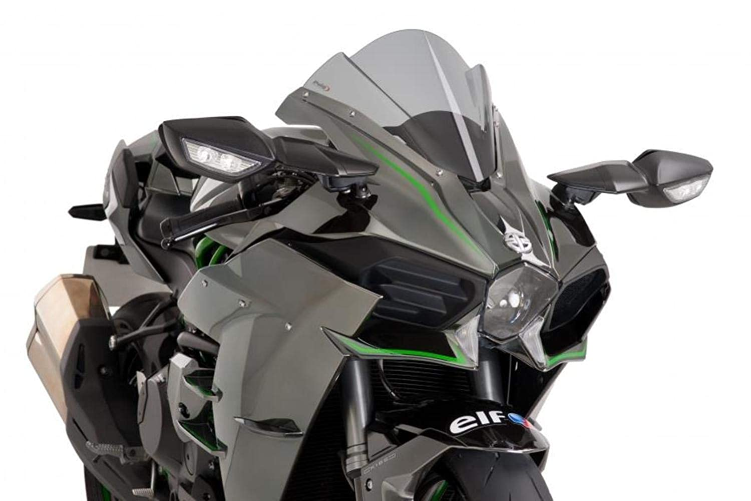 Amazon.com: 15-19 KAWASAKI NINJA-H2: Puig Z Racing ...