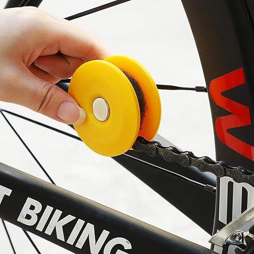 Dreameryoly Engranaje De Cadena De Bicicleta Portátil Rodillo ...