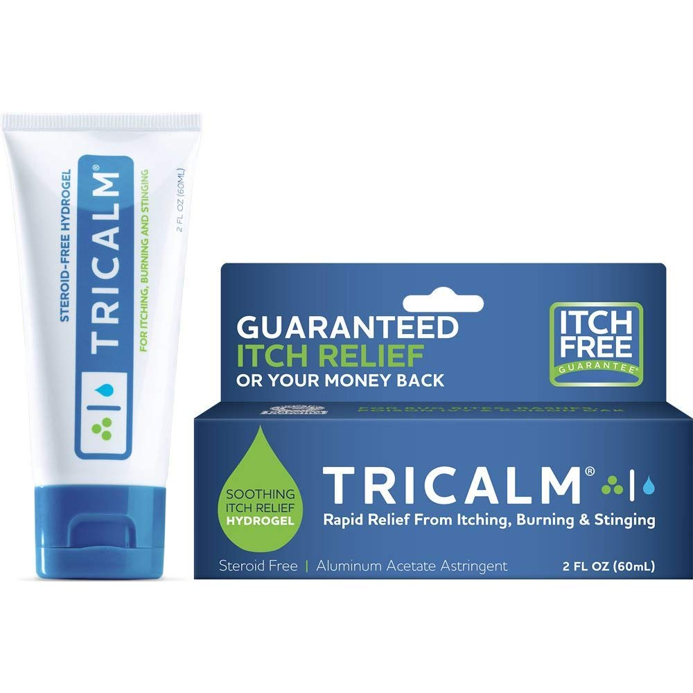Tricalm Hydrogel Aluminum Acetate Astringent - 2 oz, Pack of 2 by TriCalm