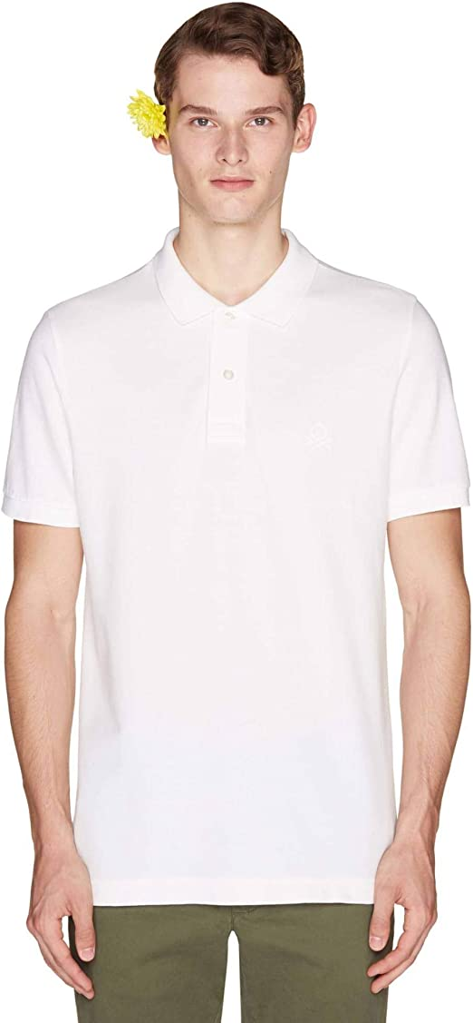 United Colors of Benetton H/S Polo Shirt Hombre: Amazon.es ...
