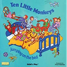 Ten Little Monkeys Jumping on the Bed (Classic Books with Holes Soft Cover) by (2001-04-01)
