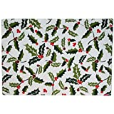 India Overseas Holly Print Linen Collection (Place Mat)