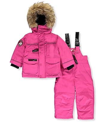 Canada Goose Baby SnowSuit fucsia