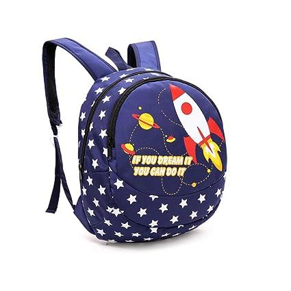 Mochila para bebés, Cute Animals Nursery School Bag para niños de 1 a 5 años