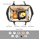 Pipi bear Diaper Bag Travel Backpack Large Capacity
