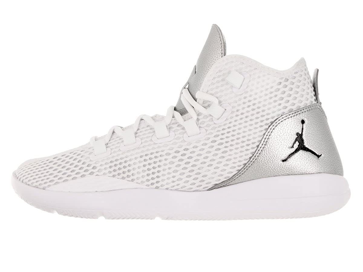 Amazon.com | Nike Jordan Reveal White/Black/Silver Mens Basketball Shoes Size 10.5 | Basketball