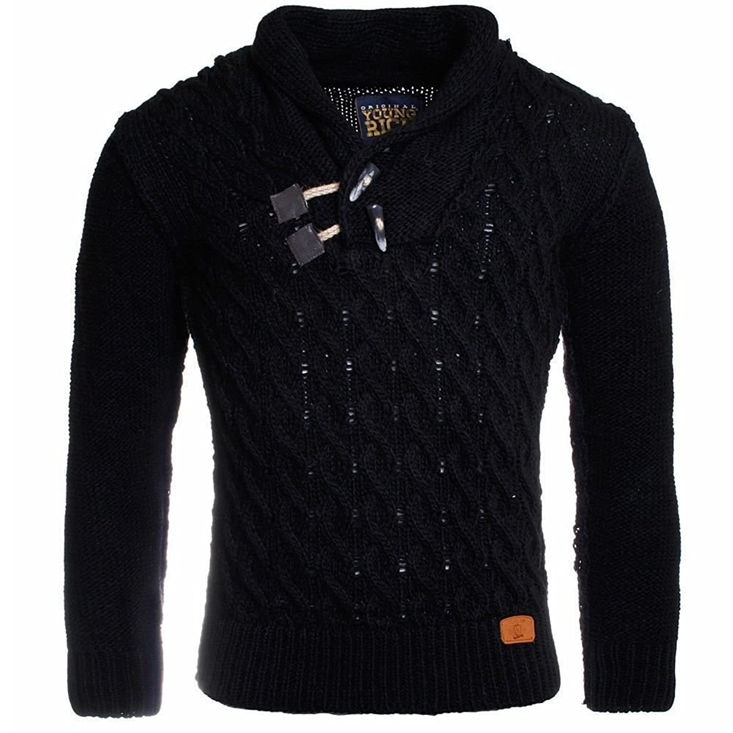Young & Reach Men's Knitted Warm Sweater / Pullover