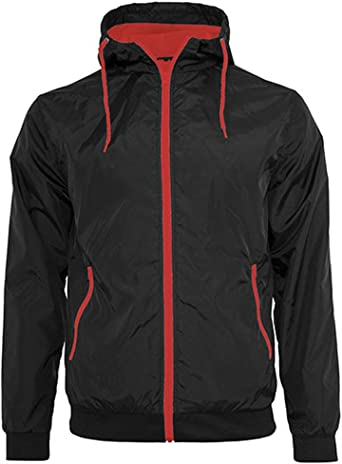 Build Your Brand Windrunner Chaqueta para Hombre