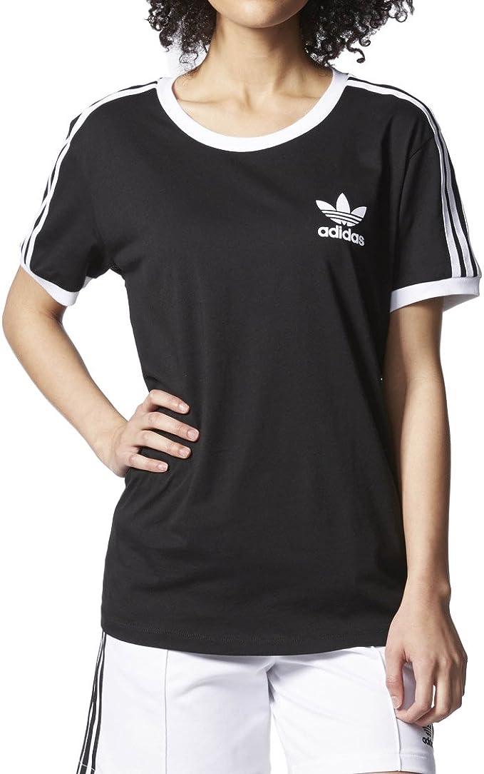 adidas 3Stripes T Shirt, Damen,: : Sport & Freizeit