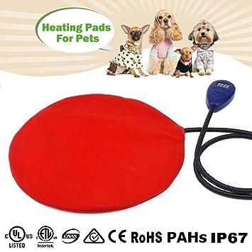 12 W para mascotas zuoao de calor para calefacción eléctrica almohadilla impermeable climatizada calentamiento para mascotas