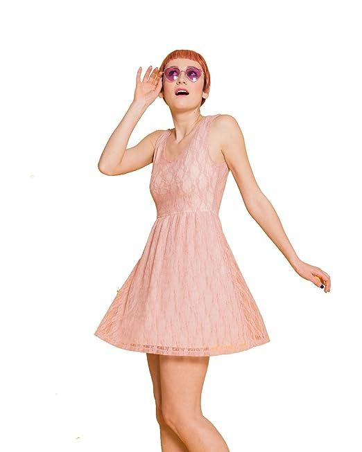 brand new 0334b edb31 Silvian Heach [:it Abito Vestito Donna Corto Elegante Rosa ...