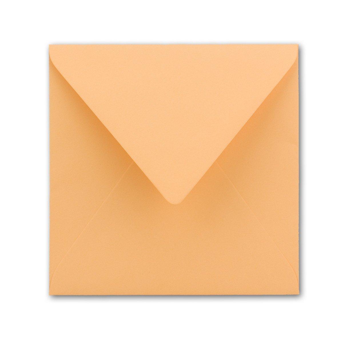 Quadratische Brief-Umschläge Brief-Umschläge Brief-Umschläge - Farbe Hochweiss   150 Stück   155 x 155 mm   Nassklebung   Für Einladungen & Hochzeit    Serie FarbenFroh® B07D2GDCDB | Reparieren  89c38d