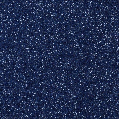 Glitterkarton 20x30cm brillant, 1 Bogen, dunkelblau Glorex
