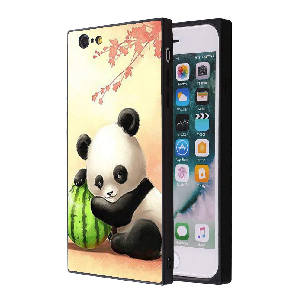 Rainbow Panda Unicorn Phone Case - Fits