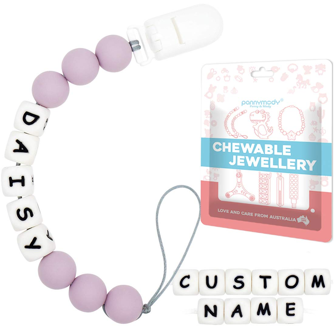 MSRP 19.00 Custom Keep Calm Pacifier Clip Only PER 80