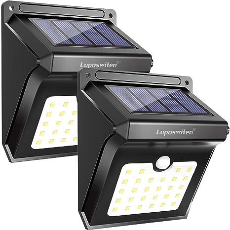 Luposwiten Solar Lights Outdoor 28 LEDs Motion Sensor Wireless Waterproof Security Light Solar Lights for  sc 1 st  Amazon.com & Amazon.com: Luposwiten Solar Lights Outdoor 28 LEDs Motion Sensor ...