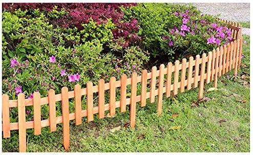 ZHANWEI Valla de jardín Al Aire Libre Césped Bordura de jardín Decorativo Cama De Flores - Naranja, 6 Tamaños (Color : 5pcs, Size : 92x50cm): Amazon.es: Jardín