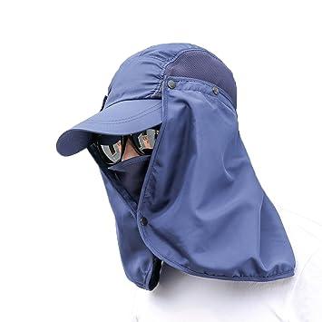 VORCOOL Women Summer Neck Flap Sun Hat Sun Visor for Hiking Climbing  Fishing Outdoor Activities 544965b1582