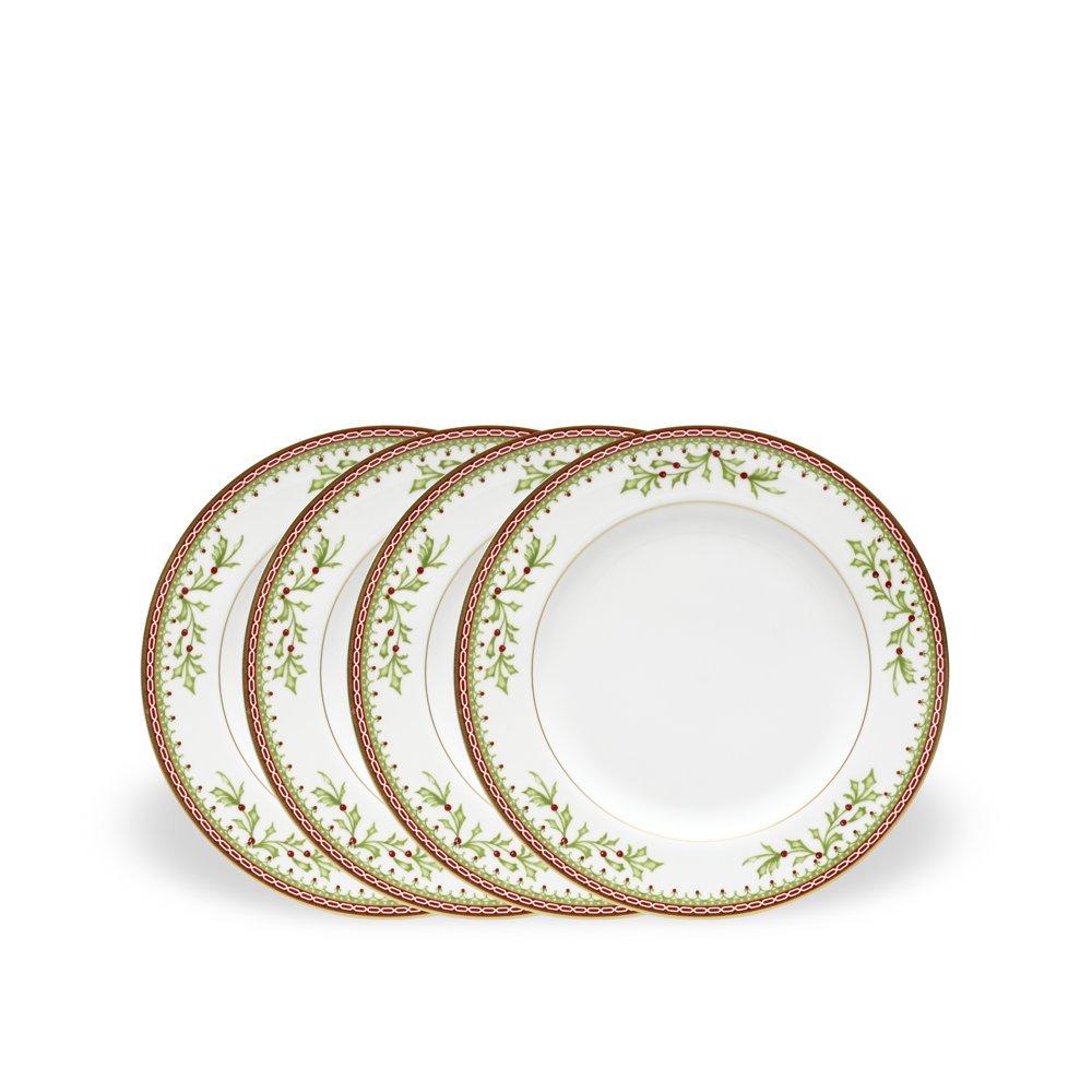 Mikasa Holiday Traditions Salad Plates, Set of 4