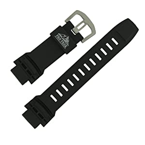 Casio watch strap watchband Resin Band for PRG-510-1V, PRW-2500, PRW-5100