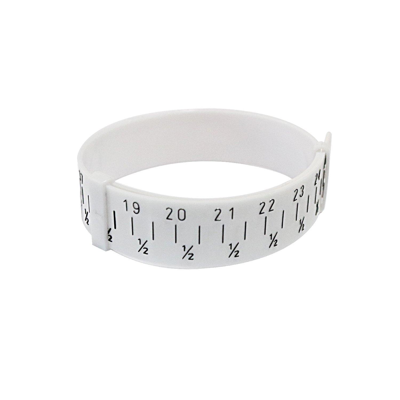 Wooden Step Bracelet Mandrel Sizer Adjust Bangle Sizing Gauge Measure Tool