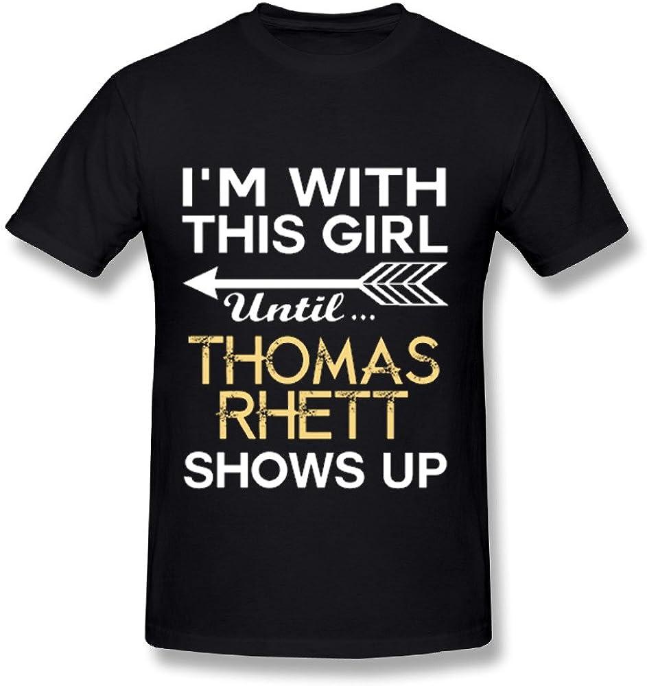 JRTH Thomas Rhett 2016 Tour Poster T Shirt for Men