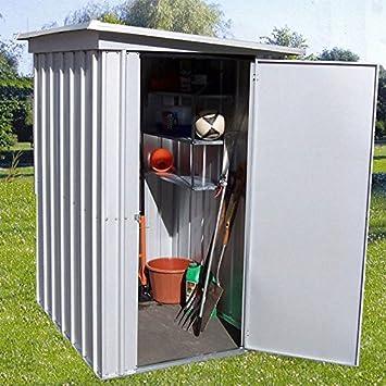 Yardmaster Pz X Metal Garden Shed Amazon Co Uk Garden Outdoors