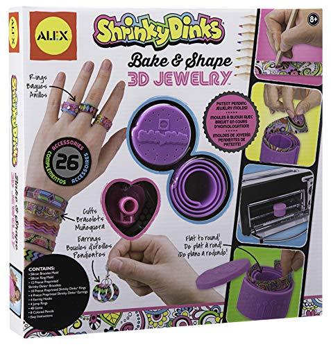 Shrinky Dinks Bake and Shape 3D Jewelry -
