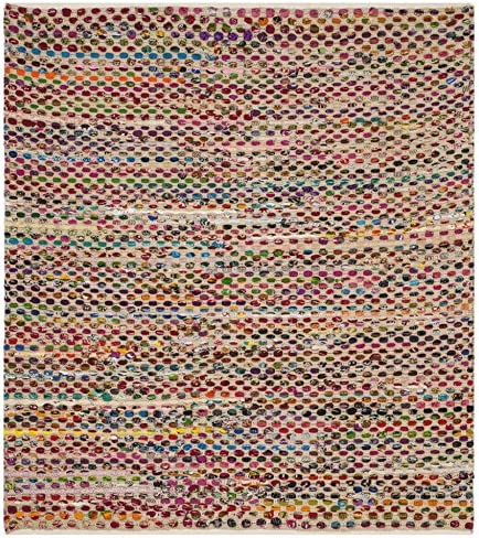 Safavieh Cape Cod Collection Runner, 2 3 x 8 , Natural Multi