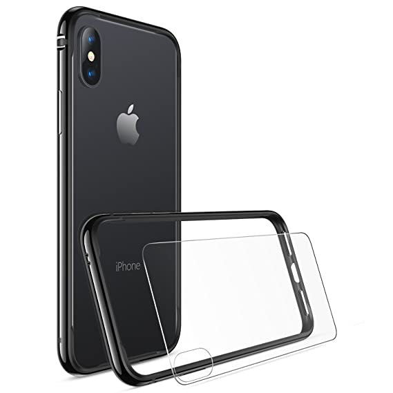 Amazon.com: iPhone X Bumper Case, iPhone 10 Case, RANVOO Flexible ...