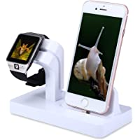 FACEVER Apple Watch Charger Stand Dock Holder (White)