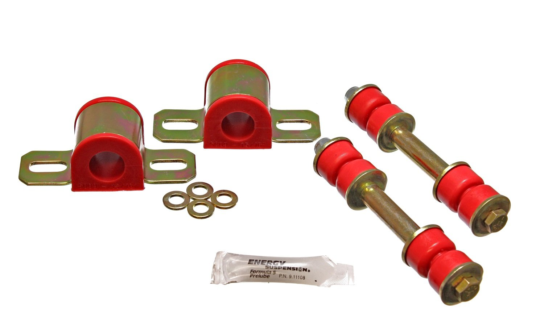 Energy Suspension 3.5147R Rear 24mm Stabilizer Bar Set for GM